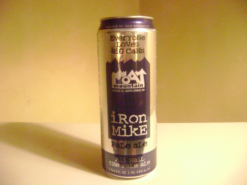 Iron Mike Pale Ale, available in Maine, is brewed with three types of hops.
