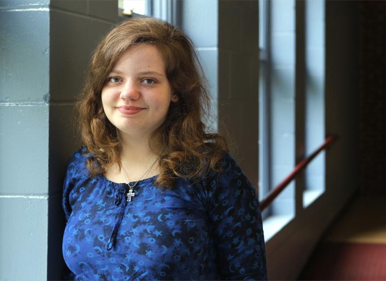 Sarah Mulcahy, a junior at Greely High School