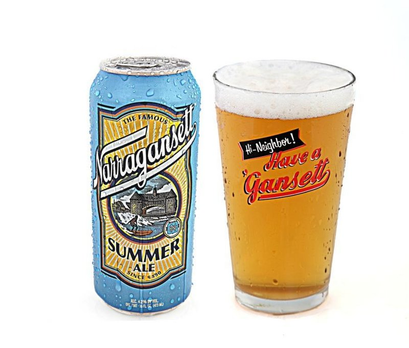 Narragansett Summer Ale is an old brewery's new creation.