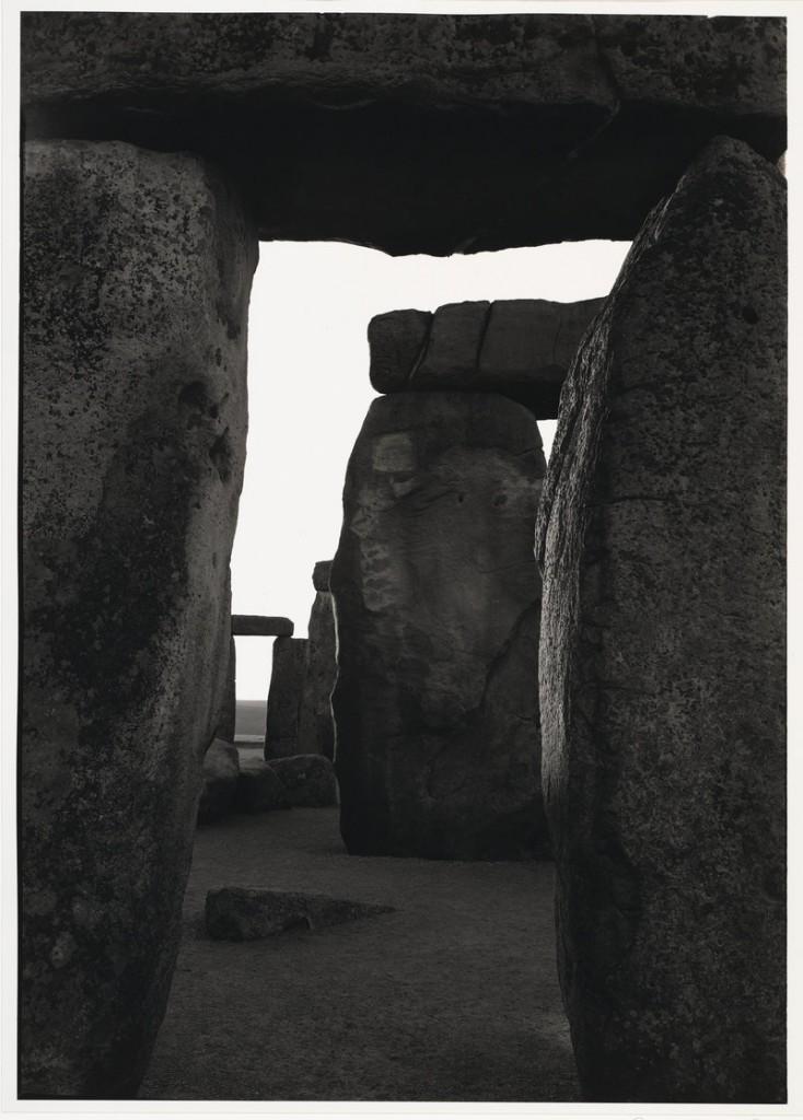 """By Paul Caponigro: """"Inner Trilithon, Sunrise, Stonehenge,"""" 1970."""