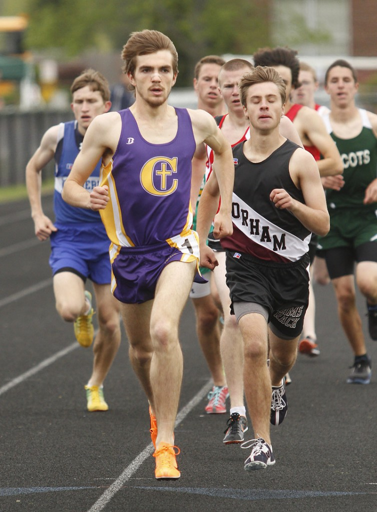Jack Terwilliger of Cheverus, the Maine Sunday Telegram boys' outdoor track and field MVP, was unbeaten in distance races during regular-season meets this spring.