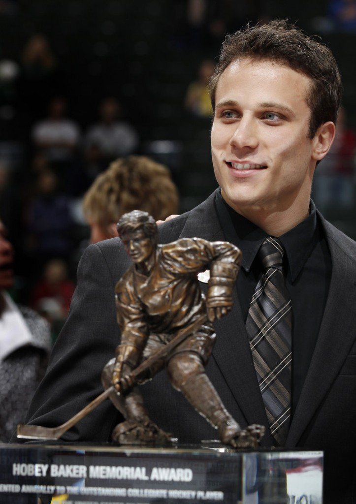 Andy Miele, a Hobey Baker Award winner at Miami of Ohio last season and a top prospect with the Phoenix Coyotes, likely will be in Portland playing for the Pirates next season.