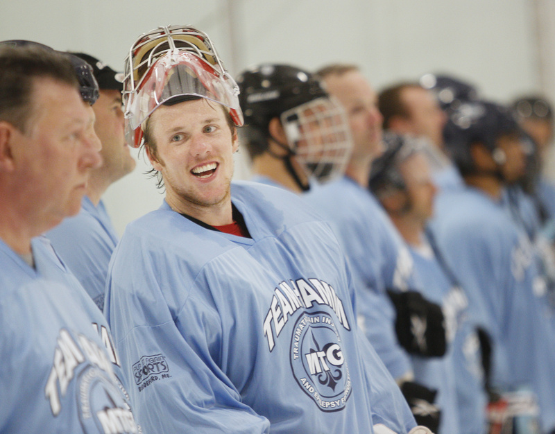 In addition to lending his name to a charity event, Jimmy Howard also has donated money to renovations at the University of Maine's Alfond Arena, a move that inspired other former UMaine players to contribute as well.