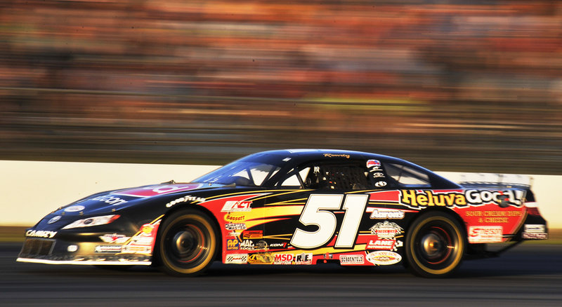 Kyle Busch capped a winning weekend Sunday night by winning the TD Bank 250. He won the Pro All-Stars Series race Saturday night.