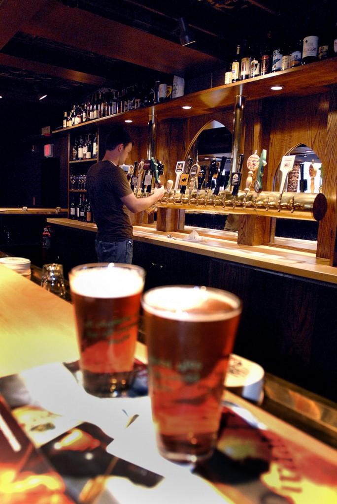 Novare Res Bier Cafe in Portland is the top vote-getter for best bar.