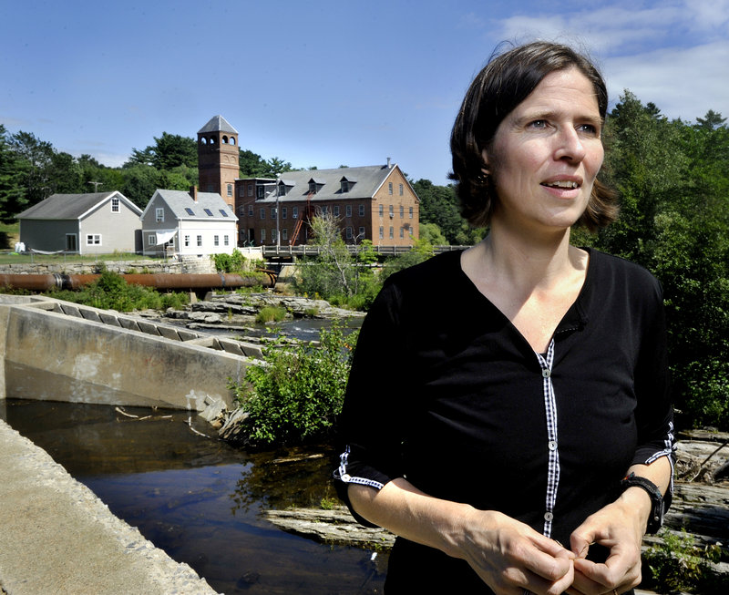 Landis Hudson, executive director of Maine Rivers, says of part of the Royal River,