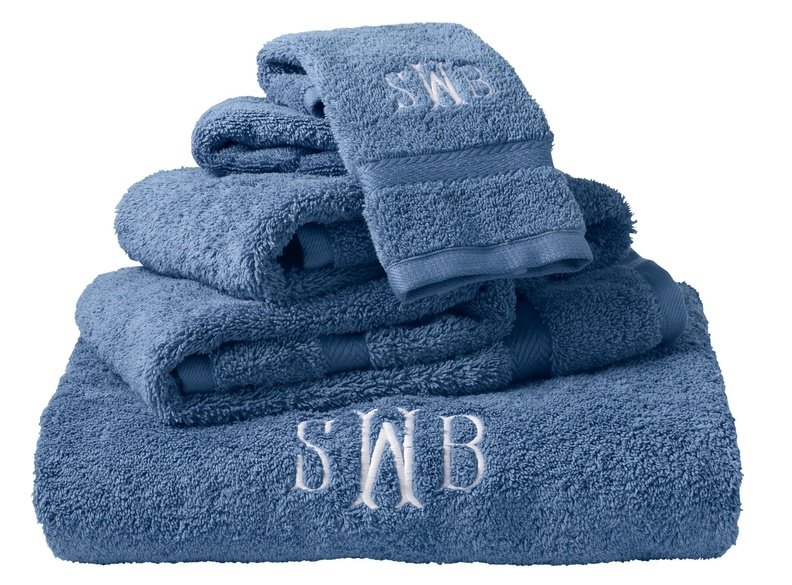 Prices for L.L. Bean's Utra-Absorbent Cotton Towels range from $12.95 for washcloths to $29.95 for bath sheets.They can be monogrammed for an additional charge.