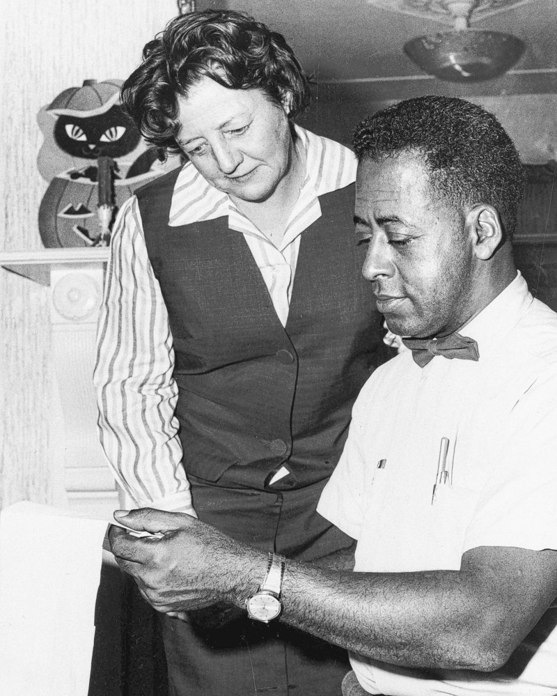 Betty and Barney Hill of Portsmouth, N.H., are shown in 1966, after their story became publicized.