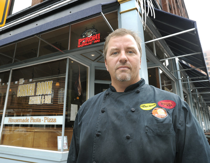 """Harding Lee Smith owns The Corner Room and two other restaurants in Portland. """"It's very disturbing that it can happen and there's very little you can do about it,"""" he said of the social media impersonation."""