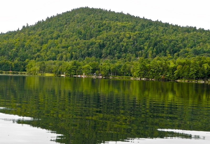 Mount Tire'm rises 600 feet above Keoka Lake. After a paddle on the scenic lake, stroll through historic Waterford.