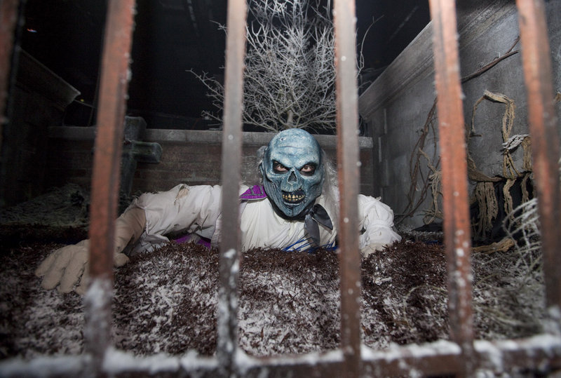 A scene from Universal Orlando Resort's Halloween Horror Nights 21.