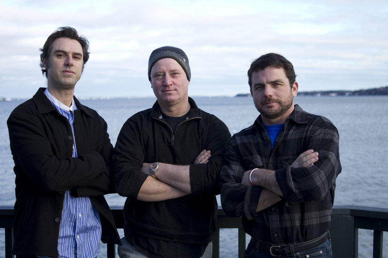 Daniel Stephens, cinematographer; Joel Strunk, director and screenwriter; and Ryan Post, producer of