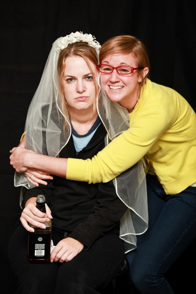Colleen A. Madden, left, and Casey Turner in