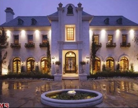 The late pop superstart Michael Jackson was renting this gated mansion when he died in 2009.
