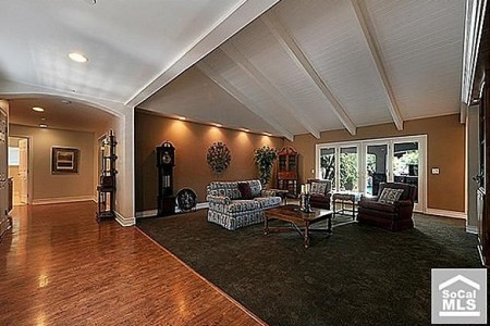 An open floor plan is one of the features that will help homeowners stay in their homes as they get older.