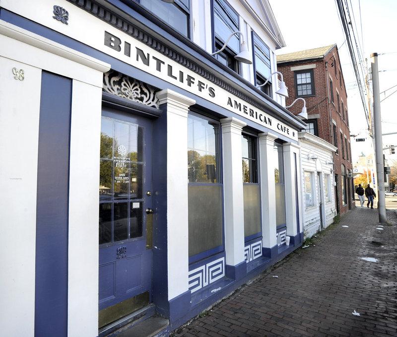 Bintliff's American Cafe serves brunch daily at 98 Portland St. in Portland.