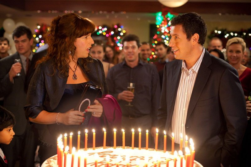 """Adam Sandler plays both Jill and her twin brother Jack in """"Jack and Jill."""""""