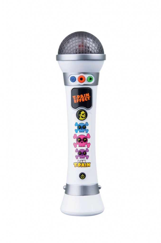 I AM T-PAIN MIC: Budding singers can choose freestyle or provided beats. The cable and software included allow users to upload from mic to the computer, to record, save or share online. Priced at $39.99 on toysrus.com