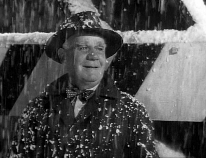 """""""Strange, isn't it? Each man's life touches so many other lives. When he isn't around, he leaves an awful hole, doesn't he?"""" – CLARENCE, ANGEL 2ND CLASS (Henry Travers), to George Bailey (Jimmy Stewart), in """"It's a Wonderful Life."""""""
