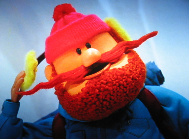 """""""Even among misfits, you're misfits."""" – YUKON CORNELIUS to Rudolph and Hermey when they're denied residence on the Island of Misfit Toys, in """"Rudolph the Red-Nosed Reindeer."""""""