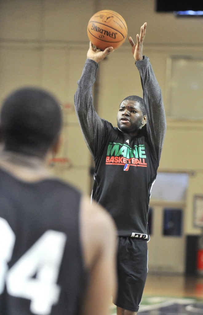 Darren Cooper, a member of the Maine Red Claws this season, underwent personal tragedies that short-circuited his basketball career. But he stood up for his family, found the opportunity to play basketball again, and is beginning his fourth season in the D-League.