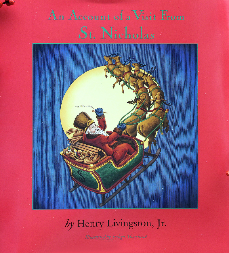 """The new book featuring """"The Night Before Christmas"""" is the first to credit Henry Livingston Jr. as the author of the poem."""