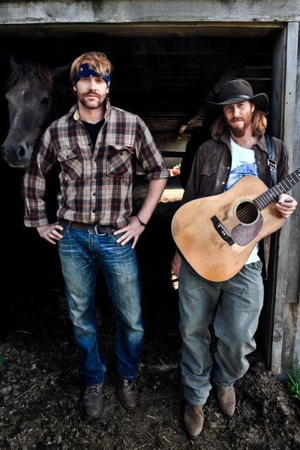 The Mallett Brothers, Will, left, and Luke, will perform Friday as part of