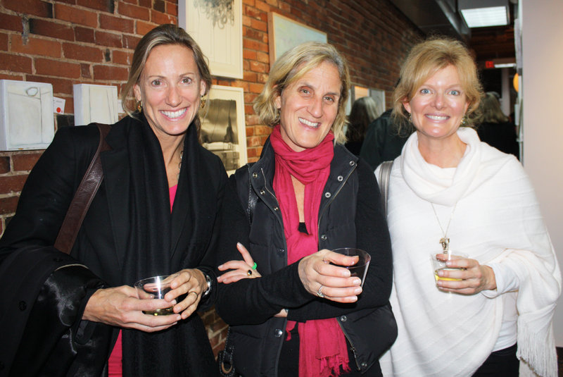 Alison Leavitt of Portland, Suzanne Fox of Falmouth and Mandy Howland of Cumberland.