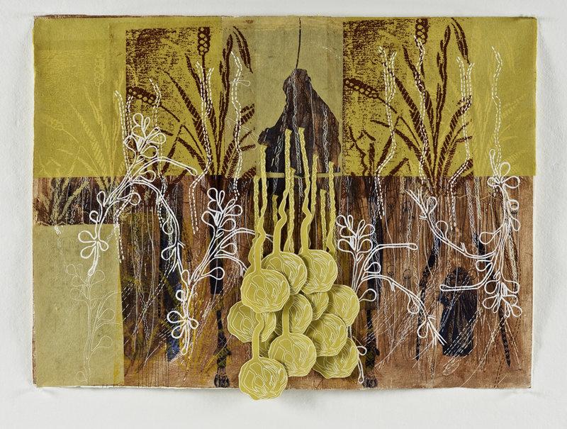 "Elizabeth Jabar's ""Bedouin Women, The Harvest"""