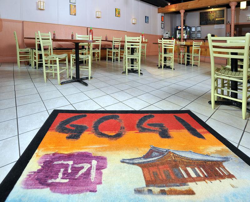 Gogi describes its fare as a fusion of Korean and Mexican cuisine.
