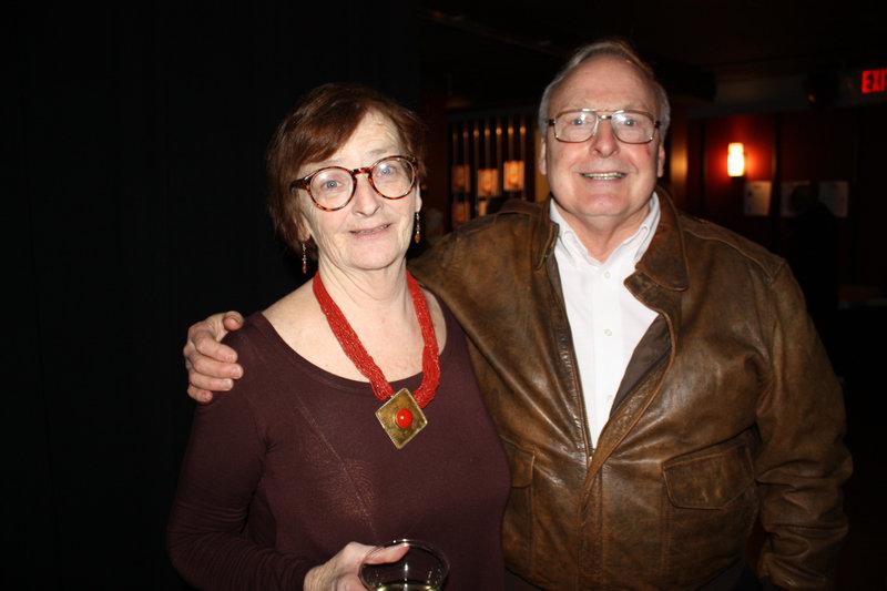 Catherine Carty-Wilbur and Tom Wilbur of Freeport.