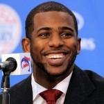 LA Clippers player Chris Paul