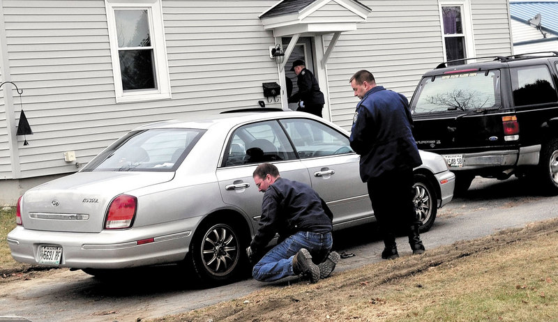 On Dec. 19, police seize two vehicles from the home, including a black Ford Explorer registered to Ayla's 24-year-old father, Justin DiPietro.