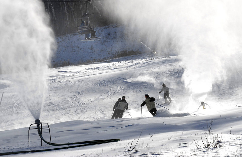 Snowmaking's long history in Maine dates back to the 1960s when the ingenuity of Otto Wallingford at Auburn's Lost Valley would help revolutionize the ski industry nationwide.