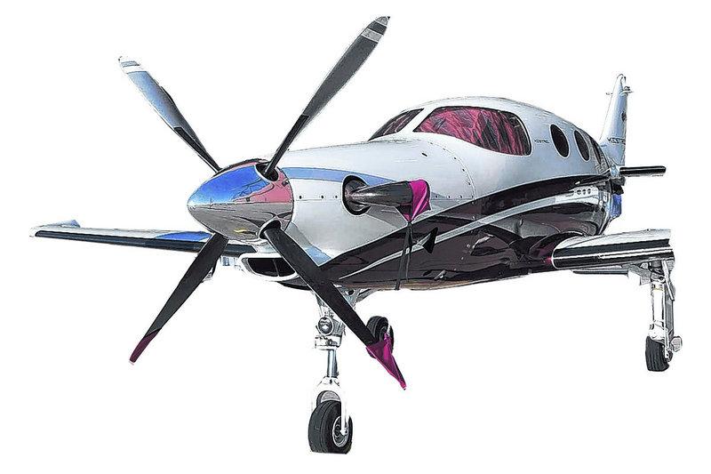 A Kestrel airplane.