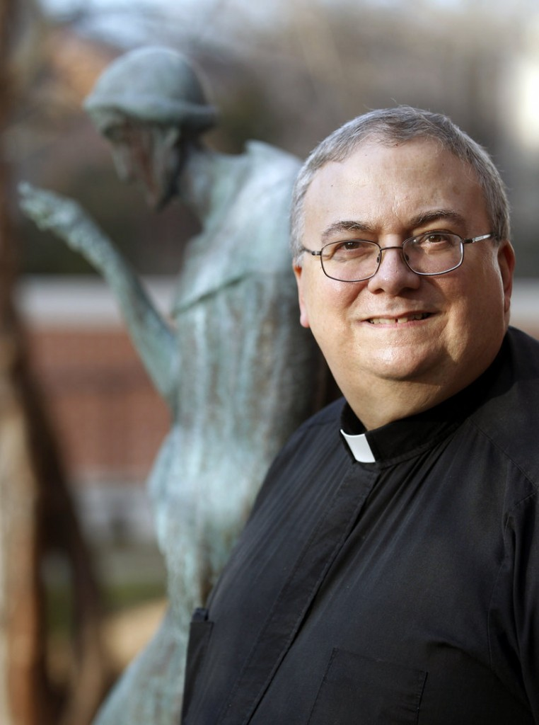 """Monsignor Patrick Lagges, canon lawyer: """"Most of us, when we were training, were preparing for marriage tribunals, marriage annulments. Now there's such a broad range of things."""""""