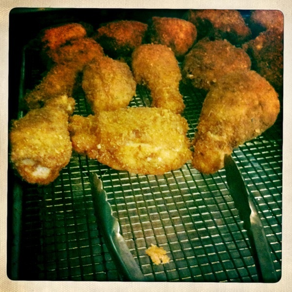 Giants quarterback Eli Manning's favorite food is fried chicken.