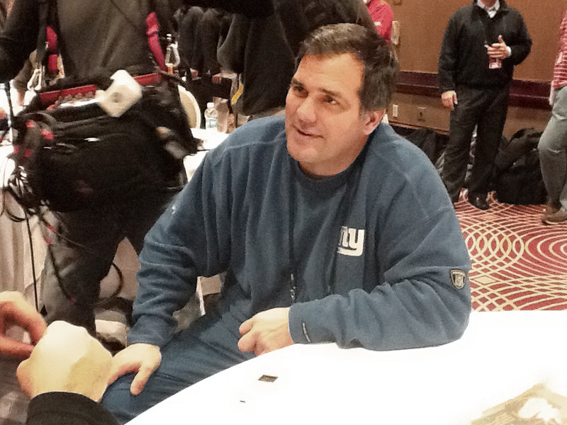 Jack Bicknell Jr., an assistant coach with the Giants, is the son of a former UMaine head coach and was part of an Orono High dynasty.