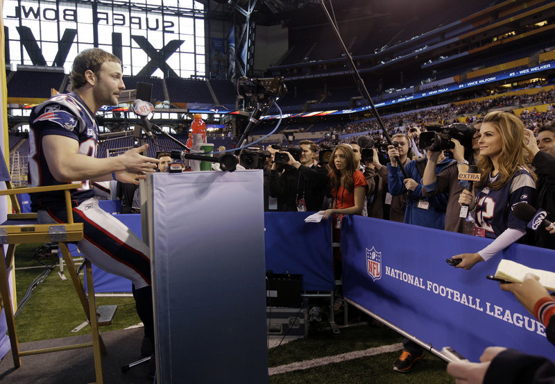 Wes Welker drew plenty of attention from the media in the week leading to the Super Bowl – and he'll draw plenty of attention tonight from the New York Giants' secondary.