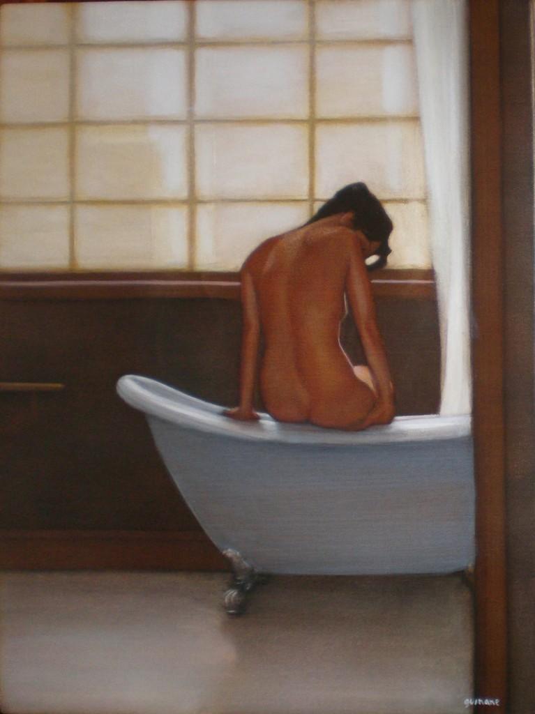 """Bather,"" by Michael Guinane."