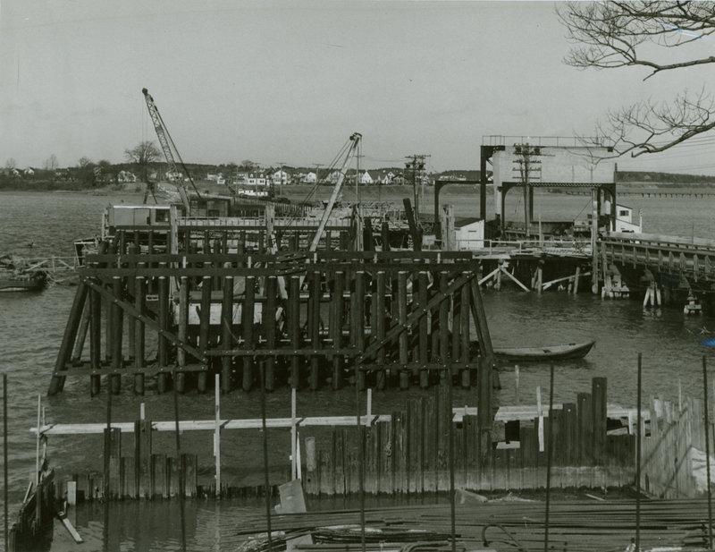 Martin's Point Bridge, circa 1942.