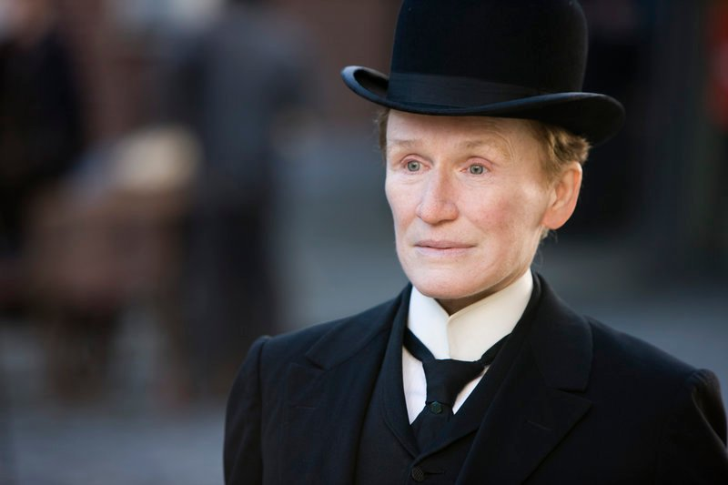 "Glenn Close as the title character in Oscar contender ""Albert Nobbs."" This is the sixth Academy Award nomination for Close."