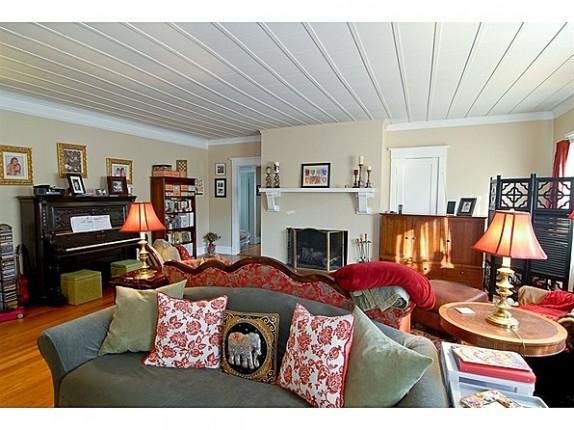 The living room of Ernest Hemingway's boyhood home.