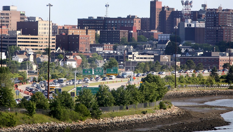 A Forbes survey ranks the Portland, South Portland and Biddeford area sixth in the nation for job-hunting this spring.