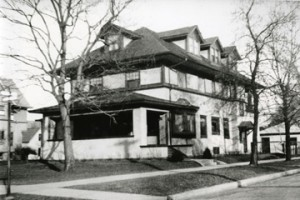 Ernest Hemingway's boyhood home in Oak Park, Illinois.