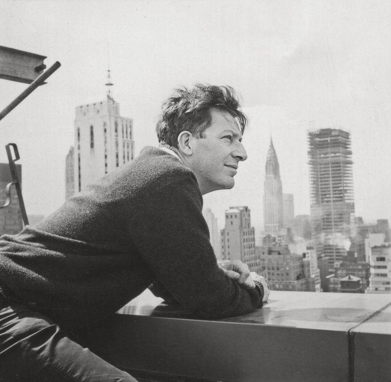 Paul Goodman in New York. Goodman was a source of inspiration for filmmaker Jonathan Lee, whose documentary