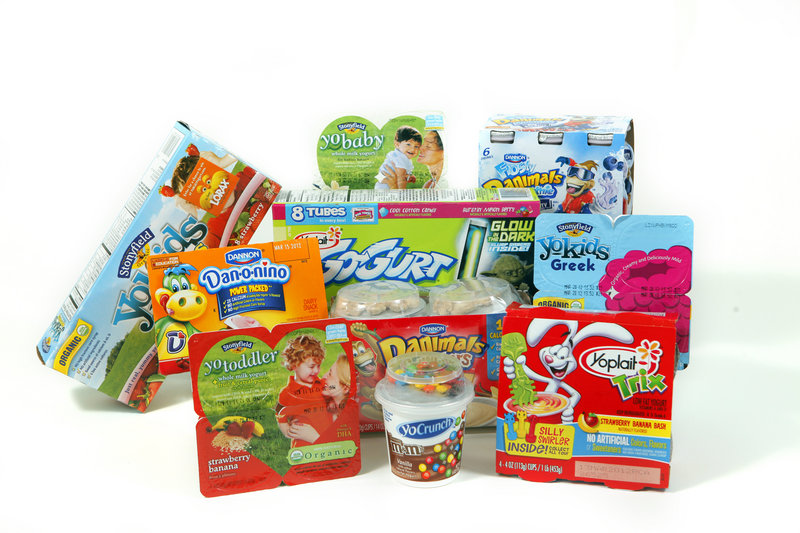 Yogurt makers such as Yoplait, Dannon and Stonyfield increasingly are targeting kids – and their parents, who may assume they're providing their child with a healthy snack or school-lunch item when that may not necessarily be the case.