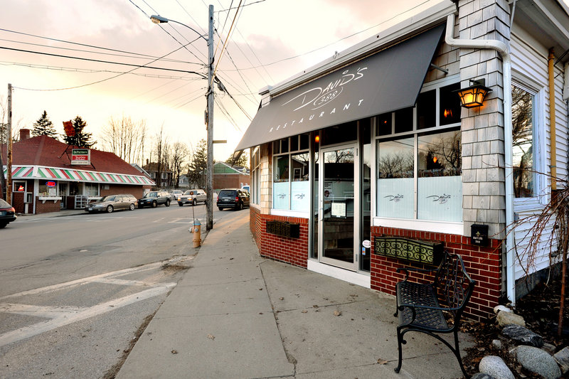 An excellent date locale, David's 388 is worth the trip to South Portland.