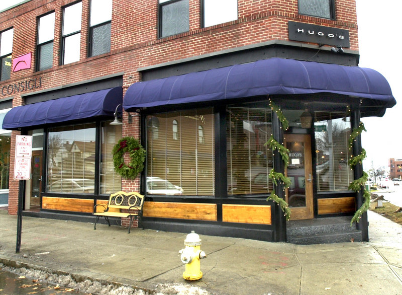 Hugo's restaurant at 88 Middle St. in Portland has been sold. The new owners say they plan no major changes.
