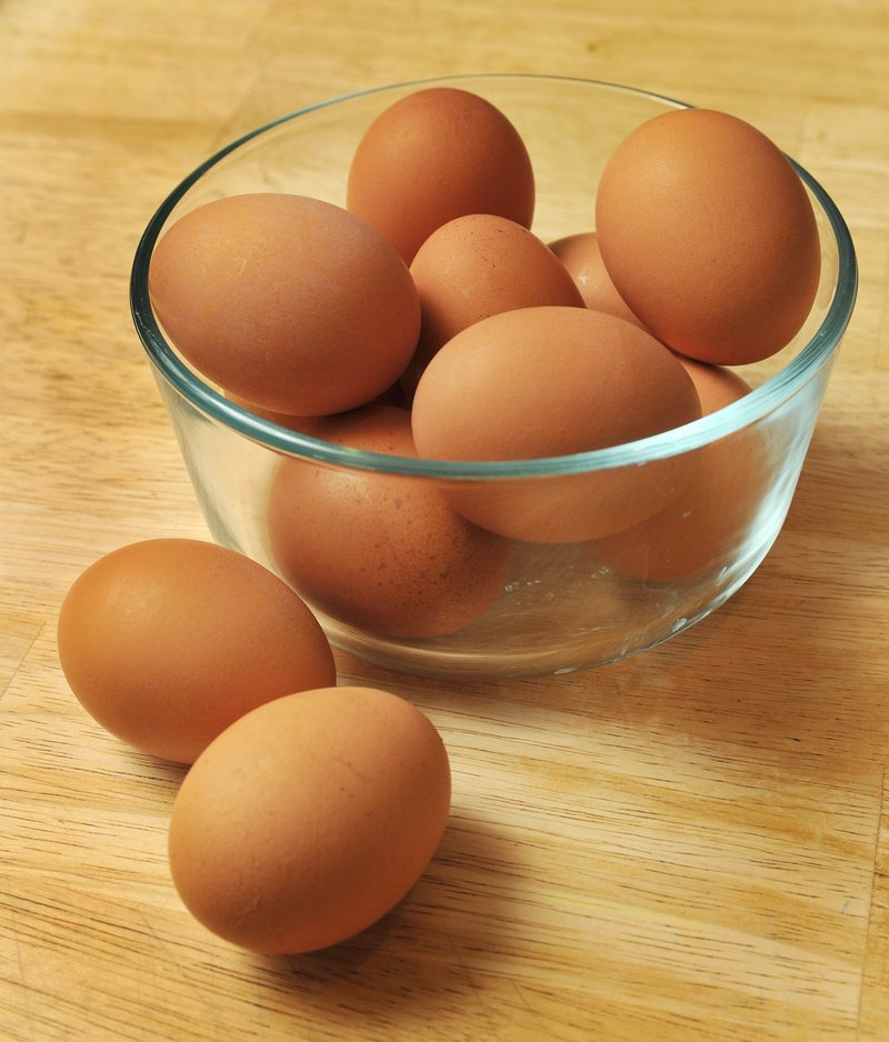Don't leave eggs unrefrigerated for more than two hours.